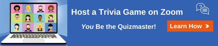Zoom Trivia Workforce Team Building